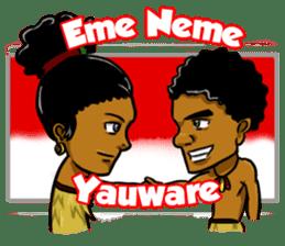 Pace & Mace YaYa - Love Papua sticker #7174143