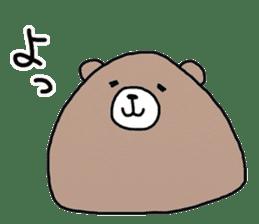 Trianglar bear sticker #7174904