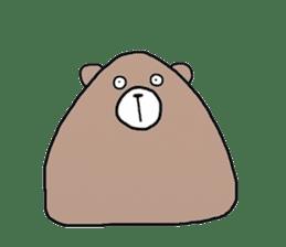 Trianglar bear sticker #7174906