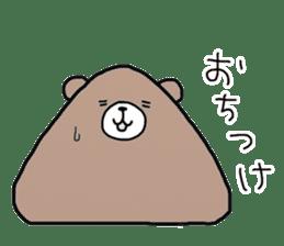 Trianglar bear sticker #7174909