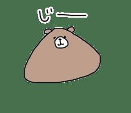 Trianglar bear sticker #7174920