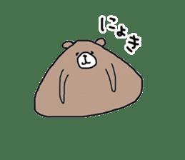 Trianglar bear sticker #7174921