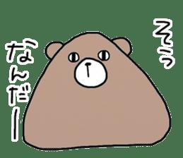 Trianglar bear sticker #7174933