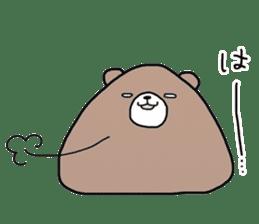 Trianglar bear sticker #7174935