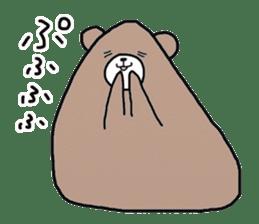 Trianglar bear sticker #7174937