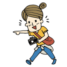 Let's go out with a camera sticker #7175112