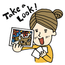 Let's go out with a camera sticker #7175126