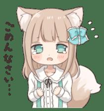 Coco of wolf ear girl sticker #7179185