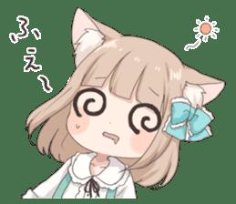 Coco of wolf ear girl sticker #7179187
