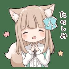 Coco of wolf ear girl sticker #7179188