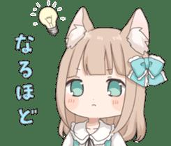 Coco of wolf ear girl sticker #7179190