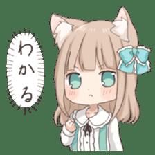 Coco of wolf ear girl sticker #7179191
