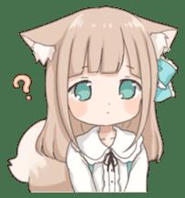Coco of wolf ear girl sticker #7179192