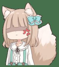 Coco of wolf ear girl sticker #7179195