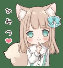 Coco of wolf ear girl sticker #7179196