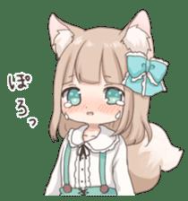 Coco of wolf ear girl sticker #7179198
