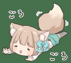 Coco of wolf ear girl sticker #7179204