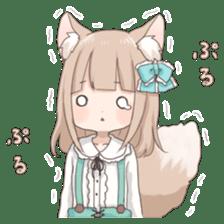 Coco of wolf ear girl sticker #7179207