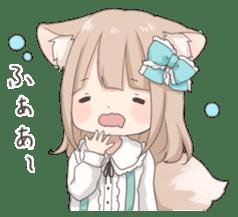 Coco of wolf ear girl sticker #7179216