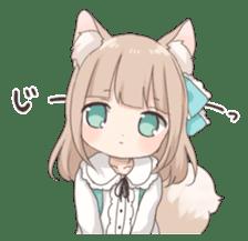 Coco of wolf ear girl sticker #7179217