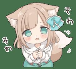 Coco of wolf ear girl sticker #7179221