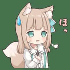 Coco of wolf ear girl sticker #7179222