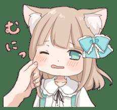 Coco of wolf ear girl sticker #7179223