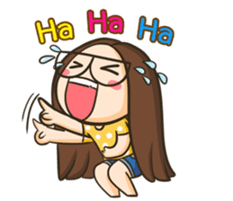 TuaGom : a little cute girl 3 [Eng] sticker #7188781