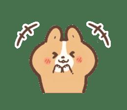 PURI PURI Corgi sticker #7191459