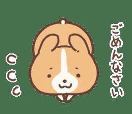 PURI PURI Corgi sticker #7191481
