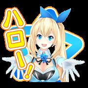 สติ๊กเกอร์ไลน์ Mirai Akari Sound Stickers