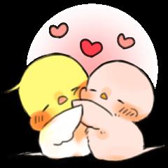 Okame-kun & pink-chan