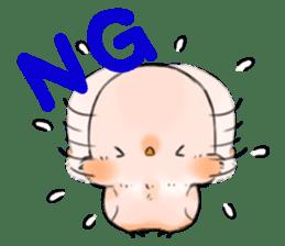 Okame-kun & pink-chan sticker #7196177