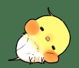 Okame-kun & pink-chan sticker #7196189