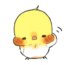 Okame-kun & pink-chan sticker #7196191