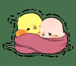Okame-kun & pink-chan sticker #7196196