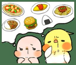 Okame-kun & pink-chan sticker #7196204