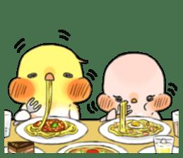 Okame-kun & pink-chan sticker #7196205