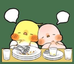 Okame-kun & pink-chan sticker #7196206