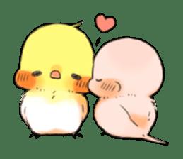 Okame-kun & pink-chan sticker #7196212