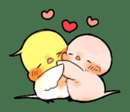 Okame-kun & pink-chan sticker #7196213