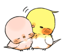Okame-kun & pink-chan sticker #7196214