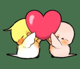Okame-kun & pink-chan sticker #7196215