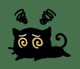 Ugly Black Cat sticker #7203537