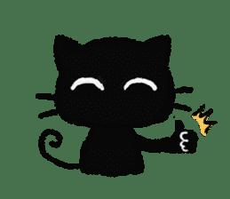 Ugly Black Cat sticker #7203545