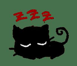Ugly Black Cat sticker #7203546