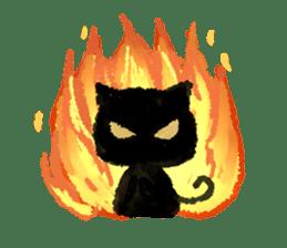 Ugly Black Cat sticker #7203555