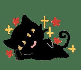Ugly Black Cat sticker #7203560