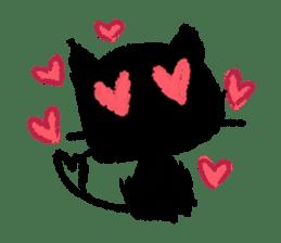 Ugly Black Cat sticker #7203562