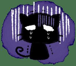 Ugly Black Cat sticker #7203565